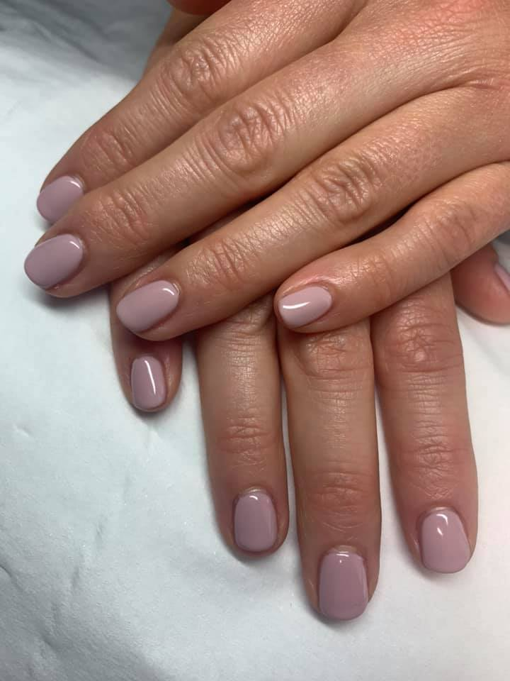Gel Nails Nude Timeless Classic
